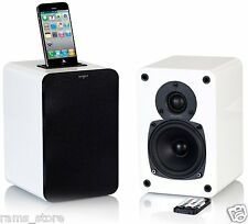 Tangent Hifi system EVO E4i Speakers iPhone iPod with dock Aux Apple RRP$499 NEW