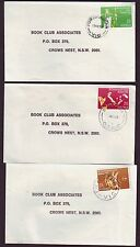 1982 COMMONWEALTH GAMES ON 3 COMMERCIAL COVERS (ALL CDS) - SCARCE (RU1003)