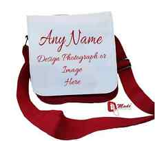 PERSONALISED SHOULDER BAG ANY DESIGN *LOVELY GIFT* - ANY DESIGN/IMAGE or PHOTO