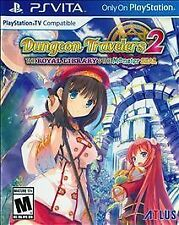 Dungeon Travelers 2 The Royal Library & the Monster Seal SEALED PlayStation Vita