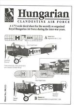 Blue Rider Decals 1/72 HUNGARIAN CLANDESTINE AIR FORCE