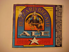 BEER LABEL  ^  BIG ROCK Brewery Buzzard Breath Ale ~  ~ Calgary, Alberta, CANADA