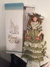 "Court of Dolls 26"" Porcelain PAMELA Doll Victorian COA  by Jenny Edwardian"