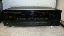Denon AVR-1600RDS av surround receiver with remote-superbe son.