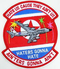 USAF 82d RS RECNNAISSANCE SQUADRON HATERS GONNA HATE PATCH