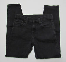 Levi 508 29x30 (measures 31x28.5) Black Tapered Fit Jeans