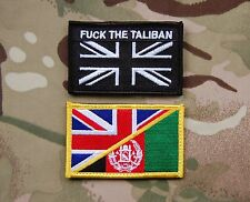 UKSF AFGHAN & F*** THE TALIBAN patches SAS SBS SFSG