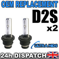 2x 6000K  D2S HID XENON BULBS  OEM REPLACEMENT PHILIPS BMW VW MERCEDES AUDI GOLF