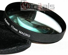 77mm Macro +10 Close-Up Lens Glass Filter For 77 mm Thread lenses