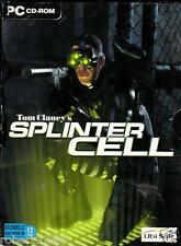 JEU PC CD ROM../...TOM CLANCY'S...SPLINTER CELL......PLUS.... PANDORA TOMORROW..