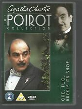 ONE TWO BUCKLE MY SHOE - Agatha Christie POIROT COLLECTION - UK DVD David Suchet