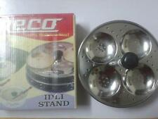 RECO 100% S .STEEL,SOUTH INDIAN DISH IDLI MAKER.IDLI STAND,,4 PIECE STAND