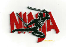 NINJA LOGO CREST HAT PATCH MARTIAL ARTS MMA UNIFORM Tae Kwon Do PIN UP QUILT