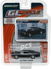 GREENLIGHT MUSCLE 1970 Dodge Charger with Blown Engine 1/64 DIECAST 13170-B