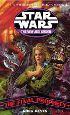 Star Wars: The New Jedi Order - The Final Prophecy by Greg Keyes (Paperback,...