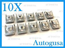 10X GENUINE OEM AUDI BMW UNDER ENGINE & GEARBOX UNDERTRAY COVER CLIPS FASTENERS
