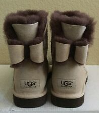 UGG NAVEAH MINI BAILEY BOW MOONLIGHT WOMEN BOOTS USA 8 / EU 39 / UK 6.5 - NIB