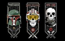 "Star Wars VII Bounty Hunter Sith Skulls - 42"" x 24"" LARGE WALL POSTER PRINT NEW"