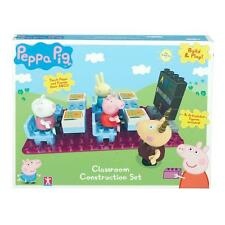 Peppa Pig ~ Aula Construction Set ~ Inc 4 Articulados cifras