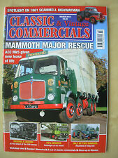 CLASSIC & VINTAGE COMMERCIALS MAGAZINE MARCH 2014 RESTORED MAMMOTH MAJOR Mk 5