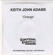 (DC481) Keith John Adams, Change - 2012 DJ CD