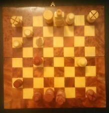 Joli petit jeu d'échecs en bois - Wood Chess - 19 * 19 -