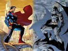 Superman vs Batman 2015 Movie Fabric Art Cloth Poster 20inch x 13inch Decor 34