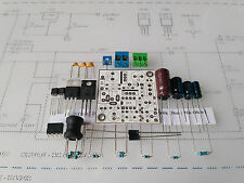 KIT Nixie Power supply DC 85-220V/5V LED N.V., PSB white mask for tubes IN-14,18