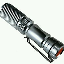 High Brightness Long Mode Mini LED Flashlight Torch Focus Zoom Light La