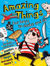 Amazing Things: Pirate (Boys Amazing Activities),N/A,New Book mon0000055379