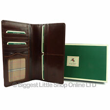 NEW Mens ITALIAN LEATHER Slim Suit WALLET by Visconti MONZA Classic Gift Boxed