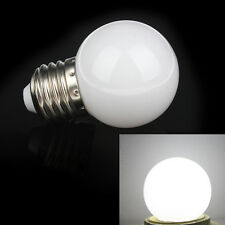 White 1W E27 mini LED Golf Ball Bulb Globe Light energy saving Lamp KSUK