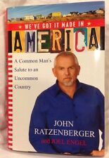 John Ratzenberger We've Got It Made In America signed 1st ed Star Wars Cheers