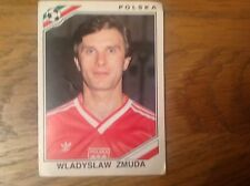 FIGURINE PANINI MEXICO 86 FOOTBALL STICKER #369 WLADYSLAW ZMUDA - POLAND