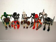 LOT DE LEGO BIONICLE REF 8532 8535 8536 8560 8563 8566 x 2 8568 8572 8588 (n°11)