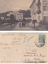 # BORDIGHERA: VIA IMPERATRICE FEDERICO   1911