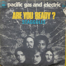 "Vinyle 45T Pacific Gas and Electric ""Are you ready ?"""