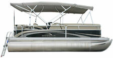 Pontoon boat top double bimini fit on Bennington 20 SLI-20 SL Toit bateau ponton