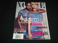 2008 FEBRUARY VOGUE PARIS MAGAZINE IN FRENCH - MOSS & CAMPBELL - MODELS - D 1385