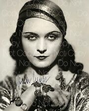 Pola Negri signed beautiful 8X10 photo picture poster autograph RP