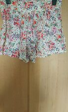H&M jardin collection multicolore shorts taille 8