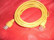 Cable Ethernet 1.5M CAT5e RJ45 Red LAN Amarillo parche de plomo