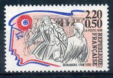 STAMP / TIMBRE FRANCE NEUF N° 2565 ** CELEBRITE / REVOLUTION / MIRABEAU