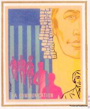 LA COMMUNICATION Yt1884  FRANCE  FDC Enveloppe Lettre Premier jour
