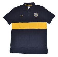 Argentina Boca Juniors Player Issue Polo Shirt blue NIKE L Riquelme unisex Adult
