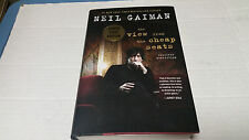 The View from the Cheap Seats by Neil Gaiman (2016, Hardcover) SIGNED 1st/st