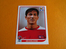 514 CHOL-HYOK COREE NORD DPR PANINI FOOTBALL FIFA WORLD CUP 2010 COUPE MONDE