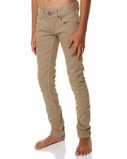 Boys  Kids Groms  RIP CURL  SLIM  Colour Bomb Jeans Khaki   Pants   Size 4