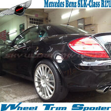 Painted For Mercedes Benz R171 Convertible Wheel Trim Spoiler SLK SLK200 350 ABS