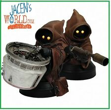 JAWAS MINI BUST STATUE FIGURE GENTLE GIANT STAR WARS NEW JAWA LIMITED EDITION